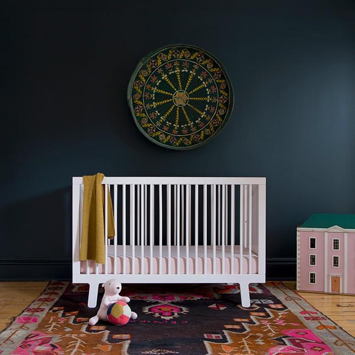 New Zealand Pinewood baby crib